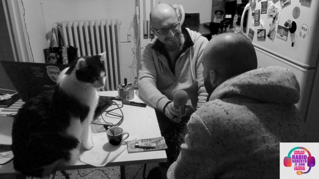 Intervista a NERV, con l'aiuto di Teo di Teolandia, mitico assistente di studio