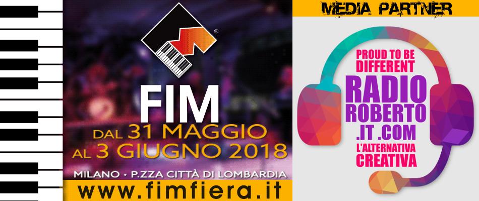 Radio Roberto Media Partner FIM 2018 - Fiera Internazionale della Musica