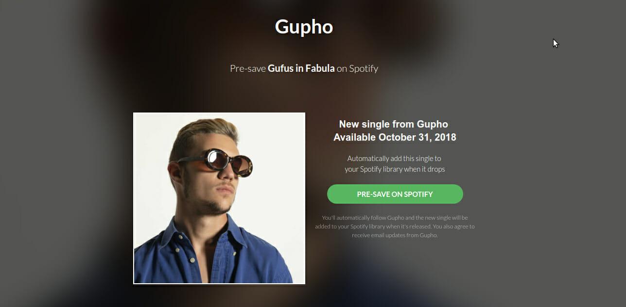 In uscita Gufus in Fabula, il nuovo singolo di Gupho sotto management Minkiaroby